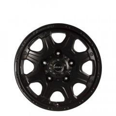 Octagon - Matt Black wheels