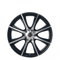 Motorvatr - Black Machined Face wheels