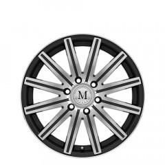 Stark - Gunmetal W/Mirror Cut Face & Lip wheels