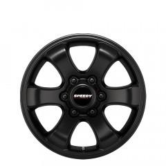 Grande - Satin Black wheels