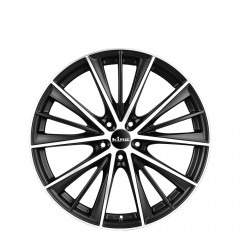 Yoshiko - Matte Black Machined Face wheels