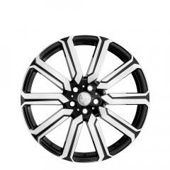 LCX - Gloss Black/Full Polish wheels