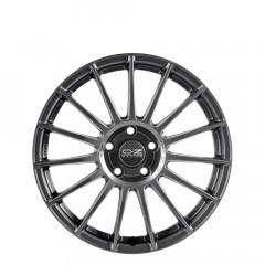 Superturismo LM - Matt Graphite + Silver Lettering wheels