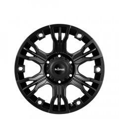 Konflict - Satin Black wheels