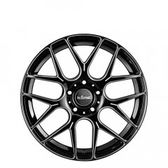 Matrix - Black Piped wheels