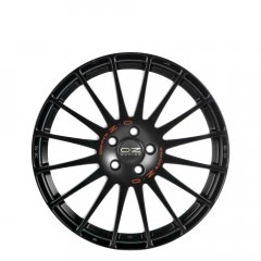 Superturismo GT - Matt Black + Red Lettering wheels