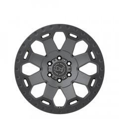 Warlord - Matte Gunmetal wheels