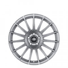 Superturismo Dakar HLT - Matt Race Silver + Black Lettering          wheels