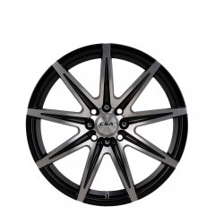 Instinct - Gloss Black M-Face wheels