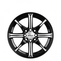 Flexx - Black Machined wheels