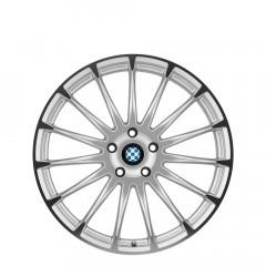 Aviatic - Silver W/Mirror Cut Face wheels