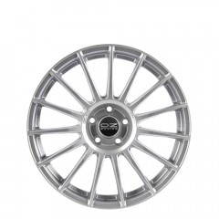 Superturismo LM - Matt Race Silver + Black Lettering wheels