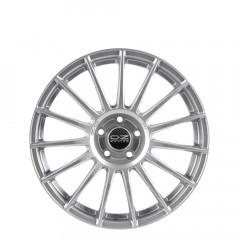 Superturismo LM - Matt Race Silver + Black Lettering wheels