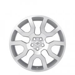 Hercules - Silver W/Mirror Cut Face wheels