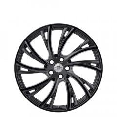 Noble - Gloss Gunmetal W/Gloss Black Face wheels