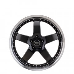 Beretta - Gloss Black Machine Lip wheels