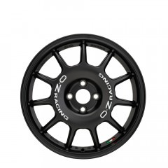 Leggenda - Matt Black + White Lettering wheels