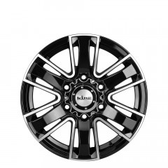 Rok - Black Machined Face wheels