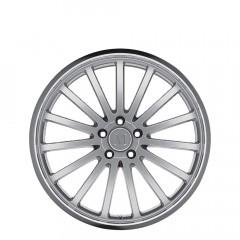 Millenium - Hyper Silver W/Mirror Cut Lip wheels