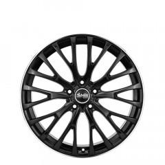 Caesar - Gloss Black/Edge Polish wheels