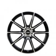 Chicane - Gloss Black Machine Face wheels