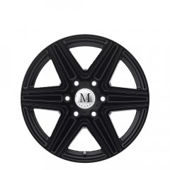 Atlas 6-stud - Matte Black wheels