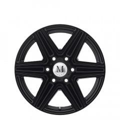 Atlas 6-stud - Matte Black wheels