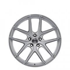 Geneva - Matte Titanium Silver wheels