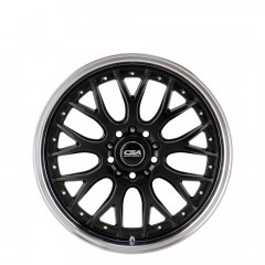 Mako - Gunmetal Black Machine Lip wheels