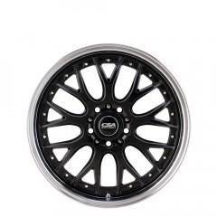 Mako - Gunmetal Black Machine Lip wheels