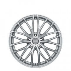 Italia 150 - Matt Race Silver Diamond Cut wheels