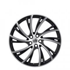 Noble - Matte Black W/Matte Machine Face wheels