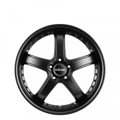 Korrupt - Satin Black wheels