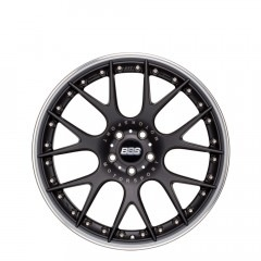 CH-R II - Matt Black with Stainless Steel Rim Protector wheels