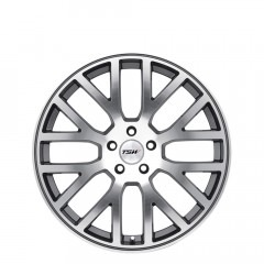 Donington - Gunmetal Mirror Cut Face wheels