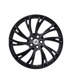 Noble - Double Black - Matte Black W/Gloss Black Face wheels