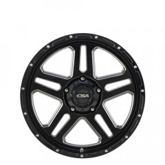 Bronx - Gloss Black - Milled wheels