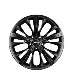 Kaptive - Satin Black wheels
