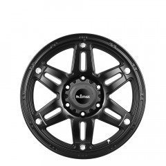 Savage - Satin Black wheels