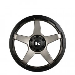 Leech - Gunmetal Satin wheels