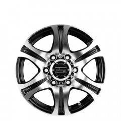 Rebel - Black Machined Face wheels