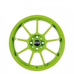 Alleggerita HLT - Acid Green wheels