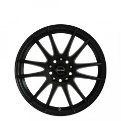 Azzuro - Matt Black wheels
