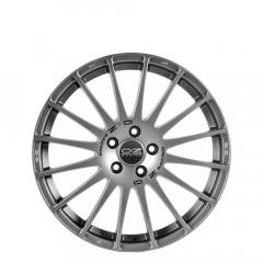 Superturismo GT - Grigio Corsa+Black Lettering wheels