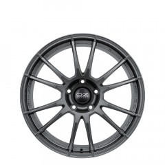 Ultraleggera - Matt Graphite Silver wheels