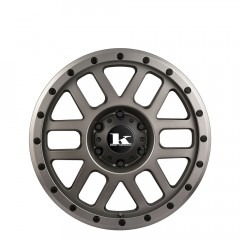 Tremor - Gunmetal Satin wheels
