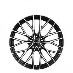 Fantom - Matte Black Machined Face wheels