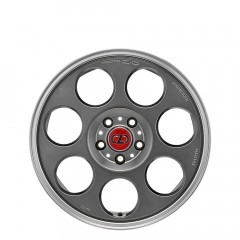 Anniversary 45 - Matt Titanium Tech Diamond Lip wheels