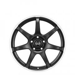 SC38 - Matt Black/Edge Polish wheels