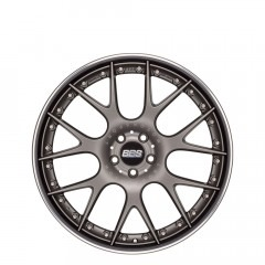 CH-R II - Matt Platinum with Stainless Steel Rim Protector  wheels
